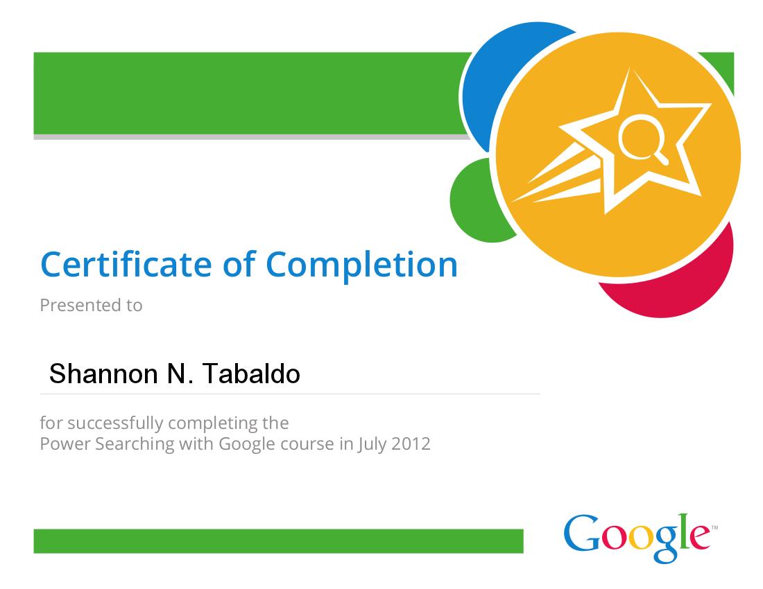 Google Advanced Power Searching | Tabaldo on Tech
