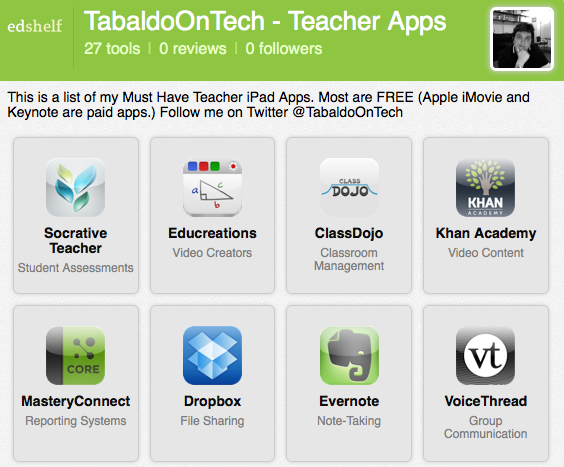 ToT Teacher iPad apps