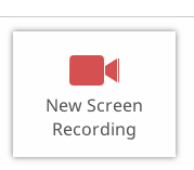New Screen Recording